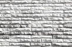 White brick wall background Royalty Free Stock Image