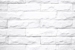 White brick wall Stock Image
