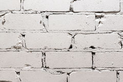 White brick wall background. The White brick wall background Royalty Free Stock Image