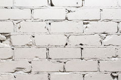 White brick wall background. The White brick wall background Stock Images