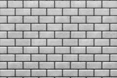 White brick wall background Stock Image