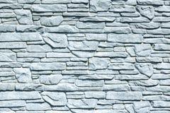 White brick wall background, grungy rusty blocks of stonework technology horizontal architecture wallpaper.  royalty free stock photo