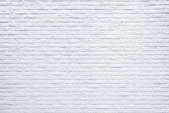 White brick wall background. White brick wall background inside of the room Royalty Free Stock Photos