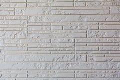 White brick wall background Stock Photos