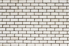 A white brick wall background Royalty Free Stock Photos
