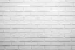 White Brick Wall Background Texture Stock Photo