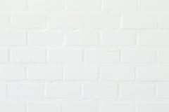 White brick wall background, texture. stock photo