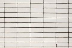 White brick wall background. Stock Photo