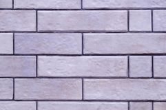 White brick wall background. texture, interiors, design. Stock Photography