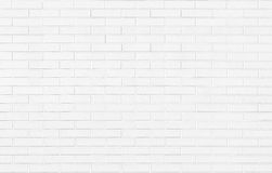 White brick wall background texture Stock Images