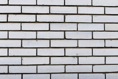 White brick wall. Background and textures photography. White brick wall for design. The white surface of the stone blocks. Background and textures photography Stock Photo