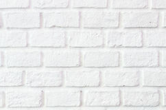 The White Brick wall background Royalty Free Stock Photo