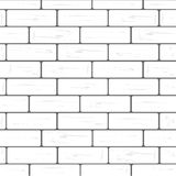 White brick wall background vector Stock Photo