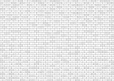 White brick wall background. Vector illustration stock illustration
