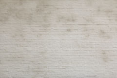 White brick wall. Backgrund texture Royalty Free Stock Photos