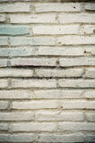 White brick wall close up Stock Photos