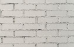White brick wall close-up, background royalty free stock images