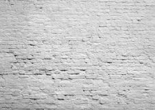 White brick wall. A close up picture of white brick wall Royalty Free Stock Photo