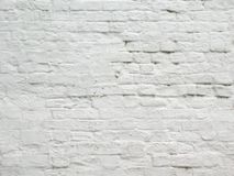 White brick wall. A close up picture of white brick wall Royalty Free Stock Photos