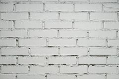 White brick wall with copy space. For text stock photos