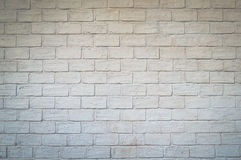 White brick wall. Royalty Free Stock Photo
