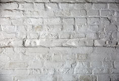 White brick wall Royalty Free Stock Photos