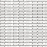 The  white brick wall-Monk bond Royalty Free Stock Photo