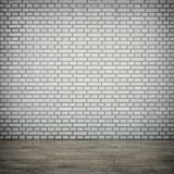 The white brick wall Stock Photo