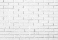White brick wall pattern background Royalty Free Stock Photography