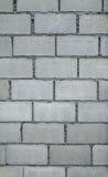 White Brick Wall Pattern. Close up of white brick wall pattern Royalty Free Stock Images