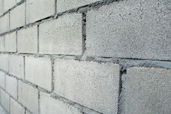 White Brick Wall Pattern Stock Photo