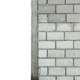 White Brick Wall Pattern Stock Images