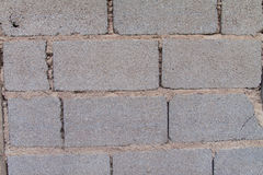 White Brick Wall Pattern Stock Image