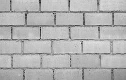 White Brick Wall Pattern. View of white brick wall pattern Royalty Free Stock Photo