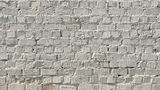 White brick wall Stock Image