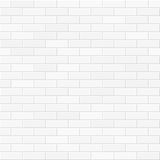 White brick wall seamless Royalty Free Stock Photos