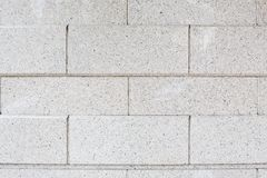 White brick wall. Seamless pattern. Royalty Free Stock Photos