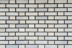 White Brick Wall Seamless Pattern Background Texture for Continuous Replicate. Royalty Free Stock Photo