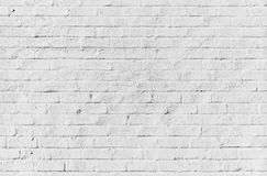 White brick wall, seamless texture. White brick wall, seamless detailed background photo texture Stock Images