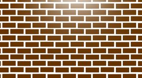 White brick wall seamless texture stock image