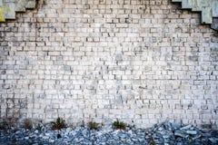 White brick wall Stock Photos