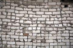 White brick wall royalty free stock photo