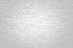 White brick wall surface as background. Abstract white texture Stock Images