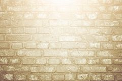 White brick wall surface as background. Abstract white texture Royalty Free Stock Photos