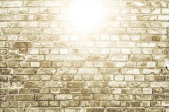White brick wall surface as background. Abstract white texture Royalty Free Stock Photo