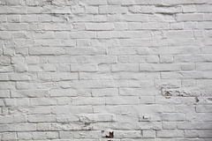 White brick wall texture Royalty Free Stock Images