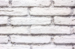 White brick wall texture for a background Royalty Free Stock Images