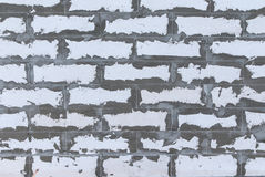 White  brick wall texture  background Royalty Free Stock Photos