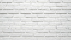 White brick wall texture for background royalty free stock photography