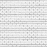 White brick wall texture background Stock Image